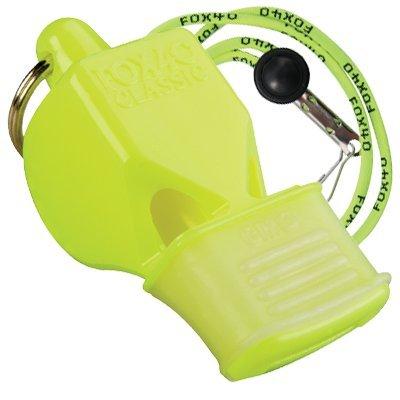 FOX40 Classic CMG Safety Trillerpfeife + passende Break-away Sicherheits-Pfeifenschnur