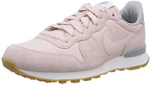 Rosa Nike Sneaker (Nike Damen WMNS Internationalist Laufschuhe, Pink Barely Rose-Wolf Grey-White 612, 40 EU)