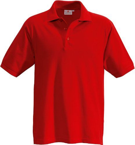 "HAKRO Polo-Shirt ""Performance"" - 816 - rot - Größe: L -"