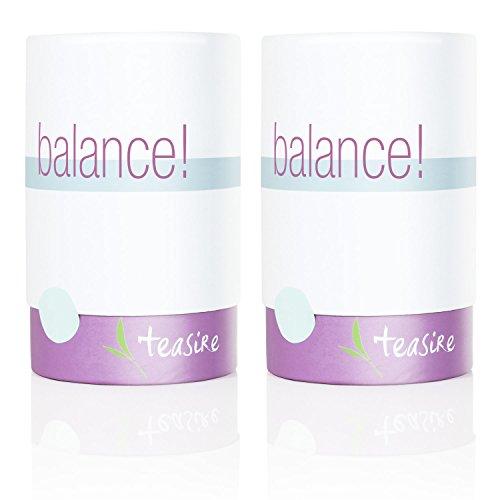 Teasire Balance! – Der beruhigende Wohlfühltee für mehr Entspannung und Ausgeglichenheit im Alltag – bio & vegan, 2x50g