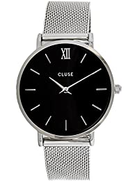 Cluse Reloj Analógico de Cuarzo para Hombre con Correa de Acero Inoxidable – CL30015