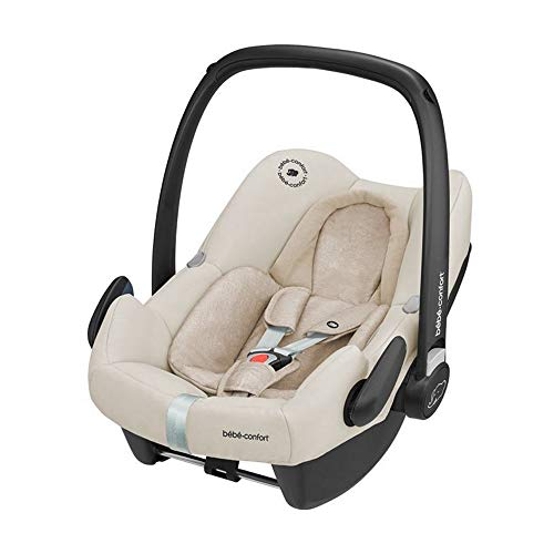Bébé Confort Cosi Rock i-Size, Siège Auto Bébé Groupe 0+, ISOFIX, Dos à la route, Naissance à 12 mois (0-13 kg), Nomad Sand