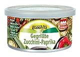 granoVita Pastete Gegrillte Zucchini-Paprika, 125g