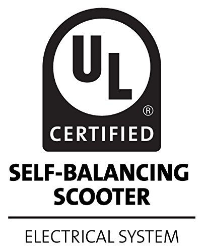 Volthor I1-62066 Self Balancing Scooter 6,5 Zoll UL2272 Standard weiß - 3