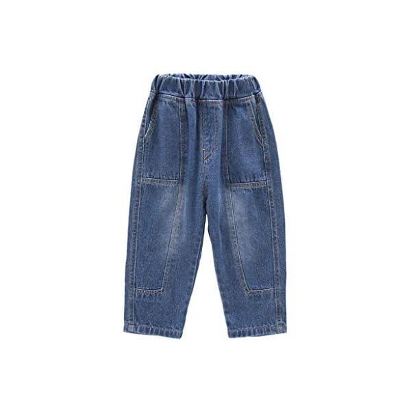 QinMMROPA bebé niñas niños Jeans Vaqueros Pantalones Largos 1