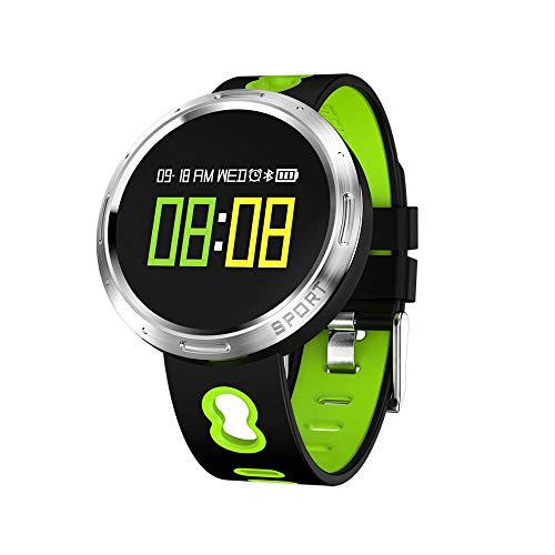 SLGJYY Farbe OLED Touchscreen Smart Armband Smart Armband Pulsmesser Schrittzähler Fitness