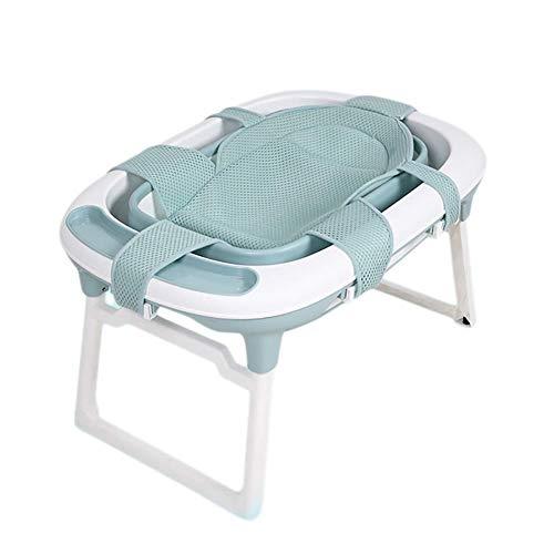 Faltbare MY1MEY-Wanne, Kunststoffwanne für Kinder, Babywanne, Neugeborenenbedarf, Auf den Höhen sitzbar, 3 Farben, 78 x 45 x 55 cm (Farbe: Grün)