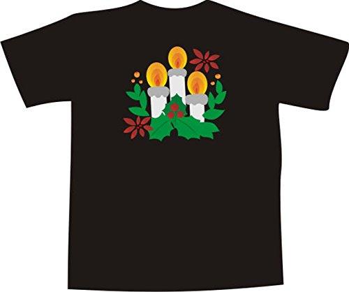 Black Dragon - T-Shirt F1028 - weiß - Größe XXL - Weihnachten Schattierungen - Funshirt Mann Frau Party Fasching Geschenk Arbeit - bedruckt