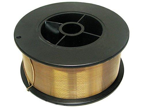 Rotek MIG Schweißdraht zum Löten von verzinkten Blechen und Schweißen von Kupfer CuSi3 - 0,8mm auf S100 Spule, 1kg