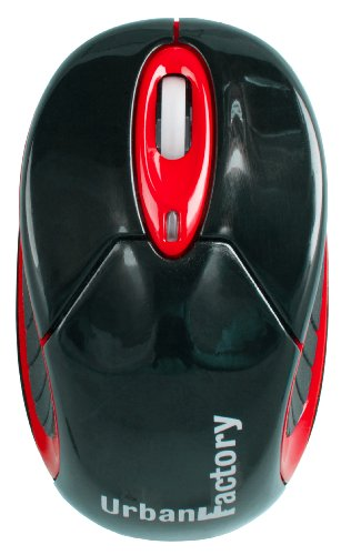 Urban Factory UBM04UF RED BLUETOOTH MOUSE NO DONGLE