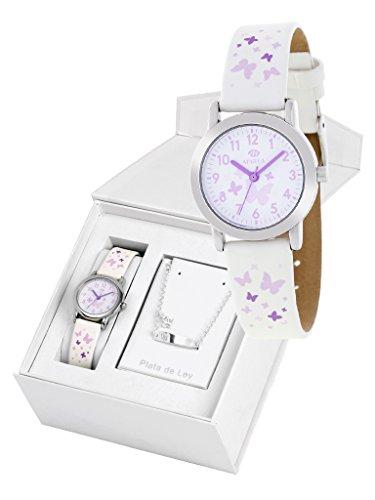 Set orologio marea ragazza b35284/4e non-ti-scordar-di-me in argento Sterling