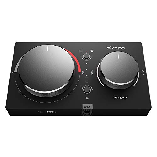 ASTRO Gaming MixAmp Pro TR Gen 4 Adapter (mit Dolby Audio, kompatibel mit Xbox One, PC, Mac) schwarz/rot