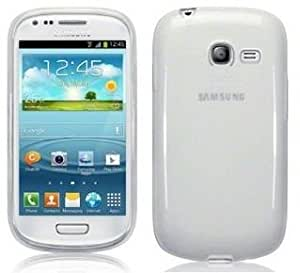 Coque Gel transparent Blanc Samsung Galaxy Pocket 2 SM-G110 + Stylet + 3 Films OFFERTS