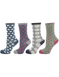 Zest Ladies Soft Mixed Fibre Socks 4-7