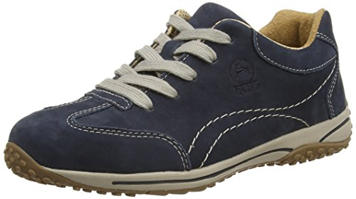 Gabor Damen Comfort Basic Derbys, Blau (Dark Blue Nubuck), 40 EU (6.5 UK) Blue Nubuck Schuhe