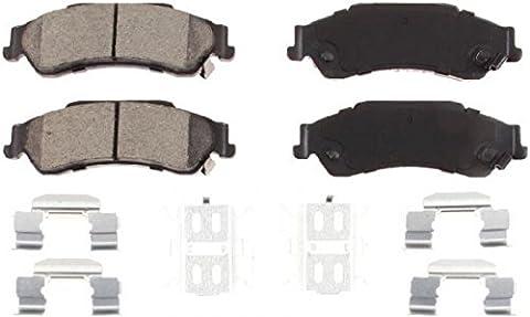 1Set of 4Ceramic Brake Pads Rear for Chevrolet Blazer & S10Pickup GMC (Jimmy & Sonoma/Isuzu Hombre & Oldsmobile