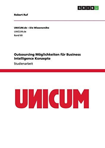 Outsourcing Möglichkeiten für Business Intelligence Konzepte