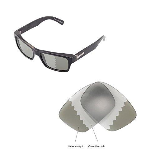 Walleva Ersatzgläser für VonZipper Fulton Sonnenbrille - Mehrfache Optionen (Übergang/Photochromisch - Polarisiert)
