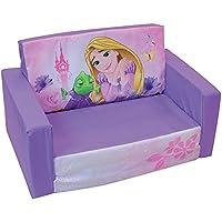 Unbekannt Fun House Disney Prinzessinnen Schlafsofa für Kinder, Schaumstoff Polyeter/Bezug Polyester, 65x 40x 39cm preisvergleich bei kinderzimmerdekopreise.eu