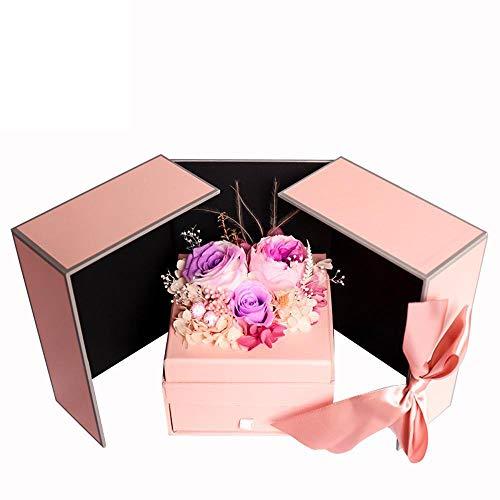 ose Nelke Geschenk Box Valentine Day Geschenk Geburtstagsgeschenk ()