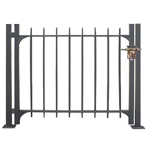 Cancello modulabile completo in ferro maremma cancelletto for Cancelletto da giardino