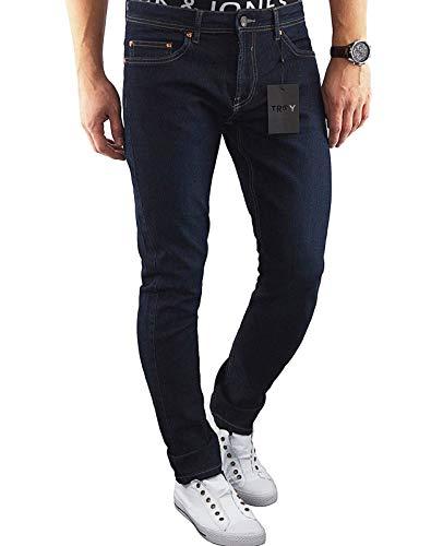 ONLY & SONS Herren Slim Jeans (29W / 34L, Blau (Dark Blue Denim Fit:Slim Trobest))