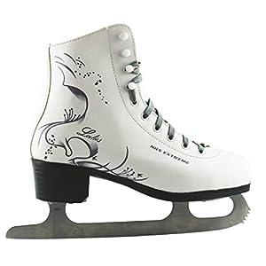 NILS Damen Eiskunstlauf Schlittschuhe Lady weiß – Gr. 36, 37, 38, 39, 40, 41