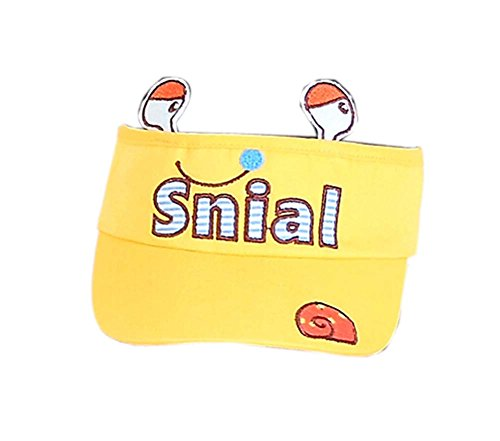 Preisvergleich Produktbild Kinder Sonnenschutz Hut Lebhaft Kinder Mütze Ohne Top 2-4 Jahre (Gelb)
