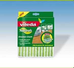 Tissu de cuisine de produits naturels de Vileda (3 paquets) 129139
