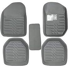 GTC Universal Carpet Car Floor/Foot Mats (ITN-934-1) (Set of 5) (Grey)