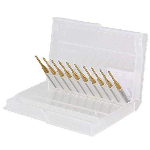 Preisvergleich Produktbild cnbtr 1,4mm Klinge Dia Titan beschichteter Zähne Schaftfräser für PCB Rotary Grate