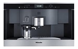 Miele CVA 6431–Coffee (Built-in, Black, Stainless Steel, Pod System, Capsules, Caffe Lungo, Cappuccino, Coffee, Espresso, 1.5L)