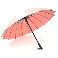 KHSKX Doppio arcobaleno osso auto ombrello Ombrello 16 uomini e donne d'affari golf ombrello,Eraser colore