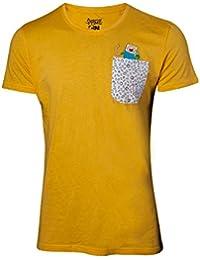 Adventure Time Jake & Finn T-Shirt yellow