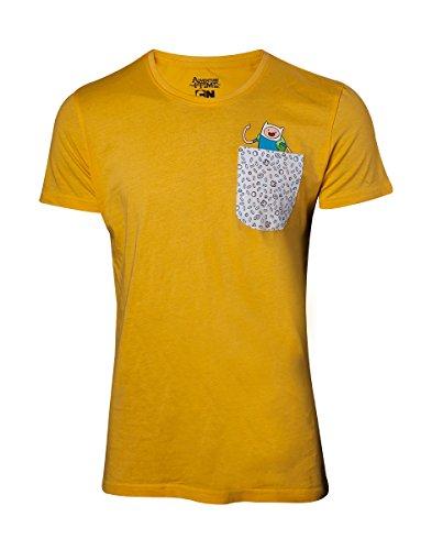 Adventure Time Jake & Finn T-Shirt gelb Yellow