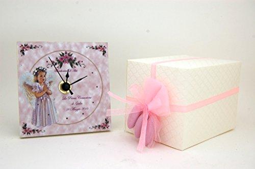 Bomboniera prima comunione orologio personalizzato pr317