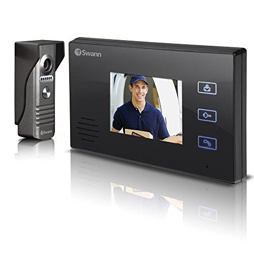 "Swann Doorphone Video Intercom with 3.5"" LCD Colour Monitor"