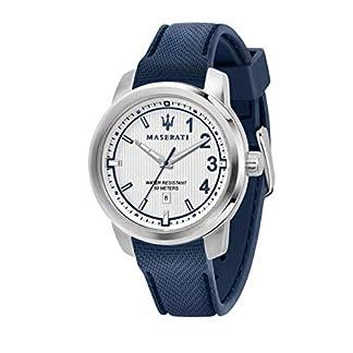 Reloj para Hombre, Colección Royale, Movimiento de Cuarzo, Solo Tiempo, con Fecha, en Nylon y Acero – R8851137003