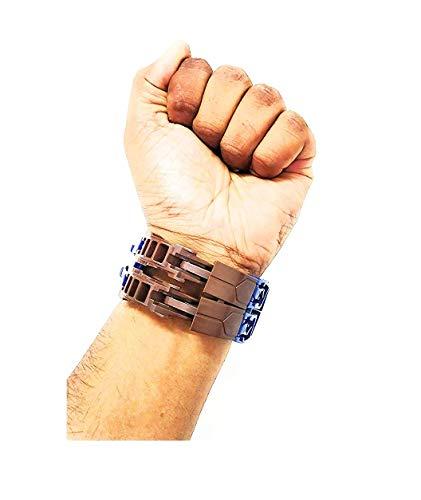 BM CELTIC Ben 10 Transformer Robot Toy Convert to Digital Deformation Wrist Boy's and Girl's Watch