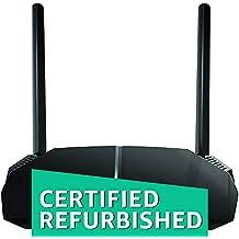 (CERTIFIED REFURBISHED) Netgear R6120-100INS AC1200 Dual-Band Wi-Fi Router (Black, Not a Modem)