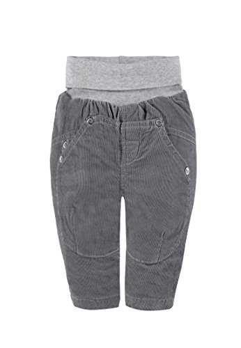 Steiff Collection Jungen Hose Hose Cord, Gr. 68, Grau (silver filigree 1032)