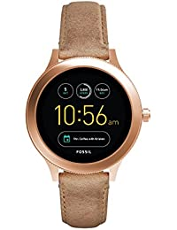 FOSSIL Gen 3 Smartwatch Q Venture Sand Leather/Women's Smartwatch with Bluetooth Technology - Activity Tracker, Smartphone Notifications