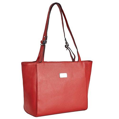 Cherry paris- brussels- Tasche getragen épaule- Damen Rot