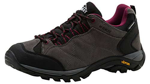 Mckinley Multi-Schuh Nago Aqx W - red dark/grey GREY DARK/GREY/RED