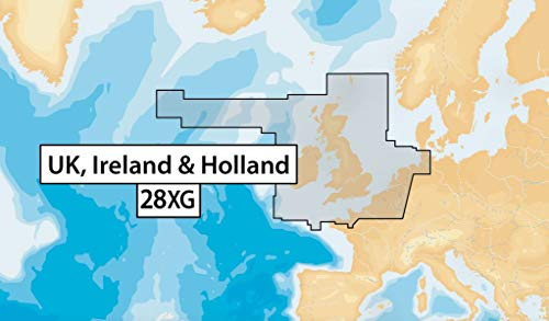 Navionics+ 28XG Update UK, Ireland & Holland CF - Karte