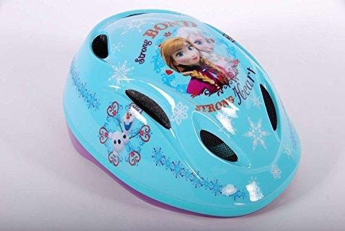 Fahrradhelm Kinderhelm Kinder Fahrrad Rad Schutzhelm Helm Disney Kinderfahrradhelm Frozen die Eiskönigin VOLARE