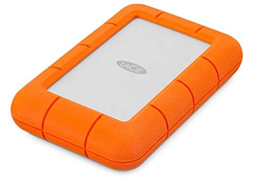 LaCie Rugged Mini, 5 TB, tragbare externe Festplatte für Mac, 2.5 Zoll, USB 3.0, Mac, PC