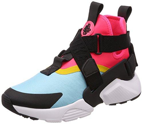 che City Sneaker, Blau (Bleached Aqua/Black-Racer Pink 400), 40 EU (Nike-city)