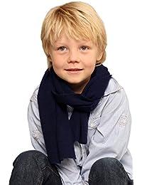 Kinderschal 100% Kaschmir - 20 x 130cm - 11 Farben - Unisex