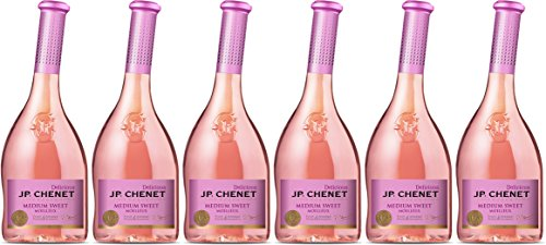 JP Chenet Delicious Medium Sweet Pays d'Oc Igp Vin Rosé 0,75 L - Lot de 6